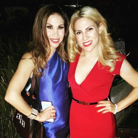 with the lovely Bianca Marroquin