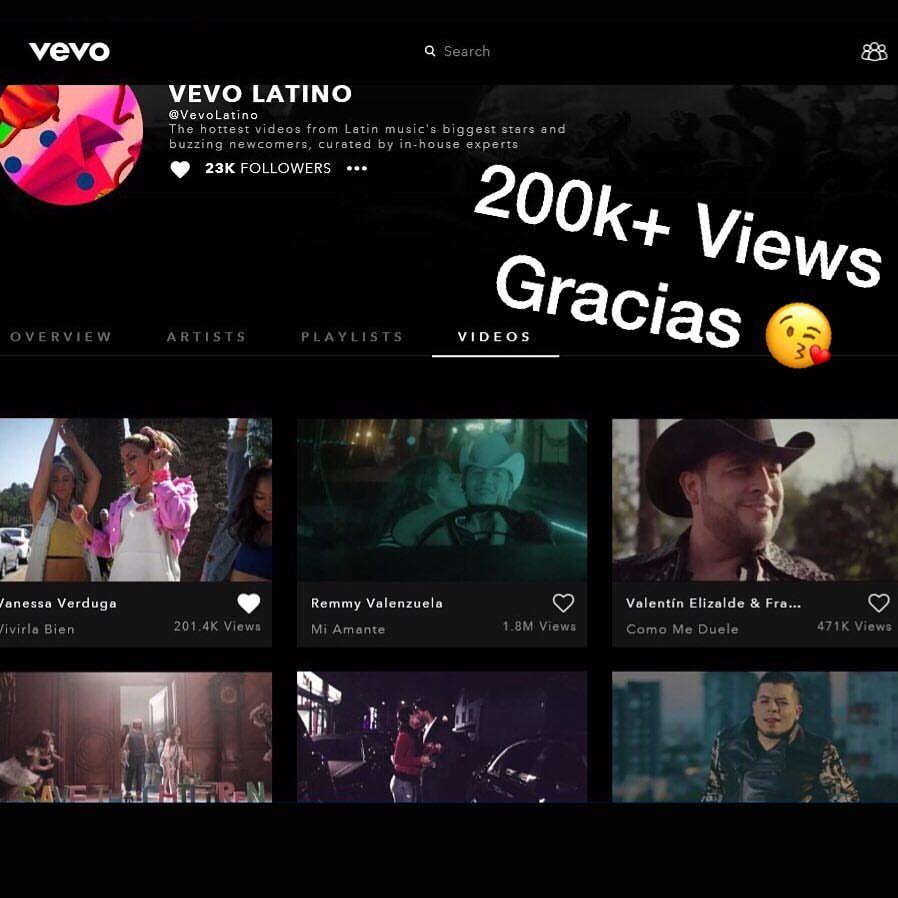 Vivirla Bien VEVO Latino 200k