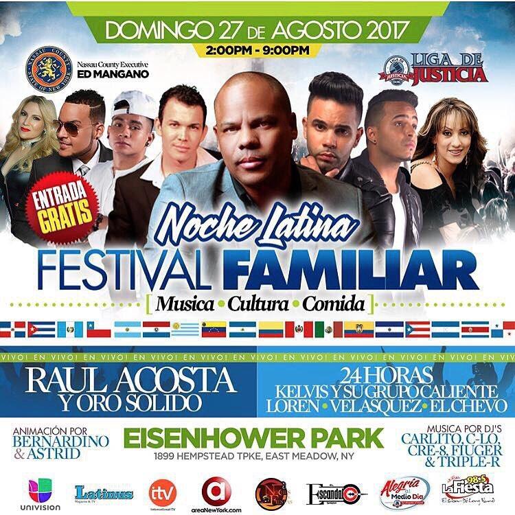 La Verduga Noche Latina Festival Familiar